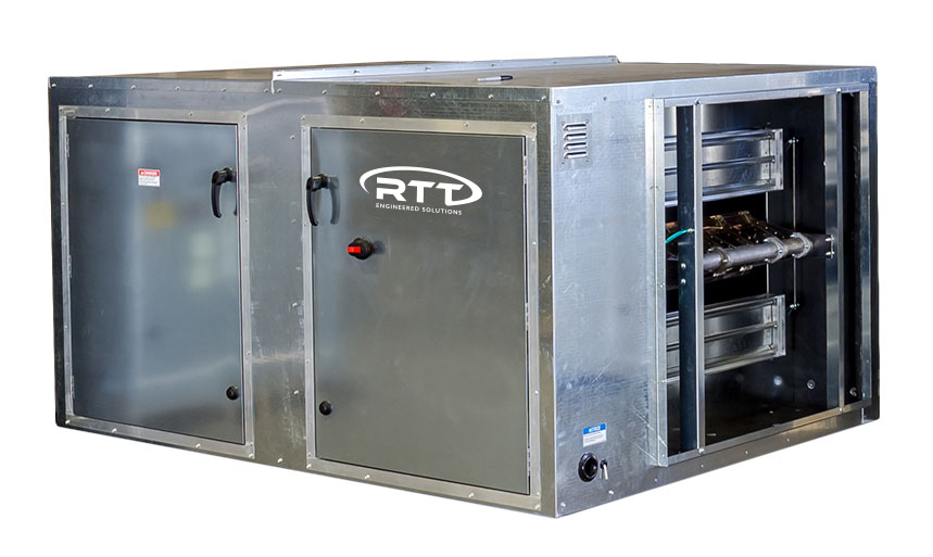 RTT Engineered Solutions Horizontal Air Makeup Units