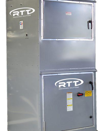 RTT Engineered Solutions Vertical Air Makeup Unit