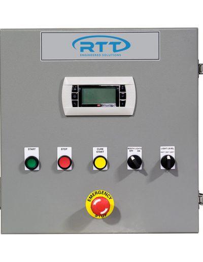 RTT Engineered Solutions Air Makeup Unit Control Panel