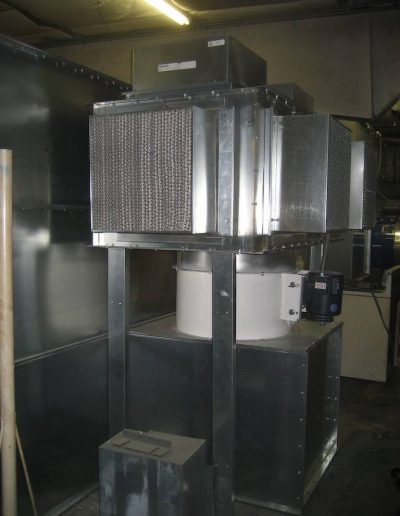 RTT Engineered Solutions Batch Powder Coating Booth