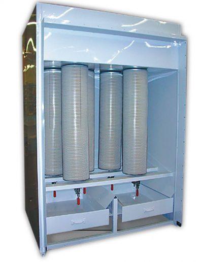 RTT Engineered Solutions Cartridge Batch Powder Coating Booth