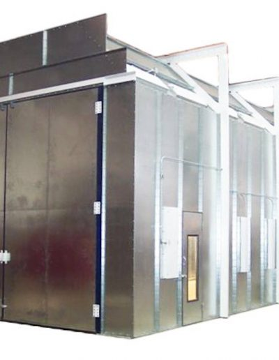 RTT Engineered Solutions Downdraft Paint Booth