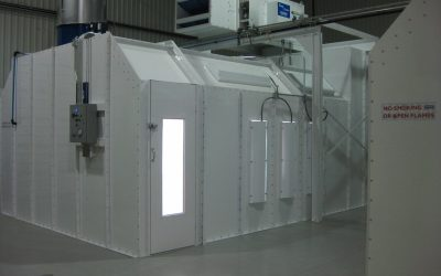 Spray Booth Sizing and Selection – Spanish