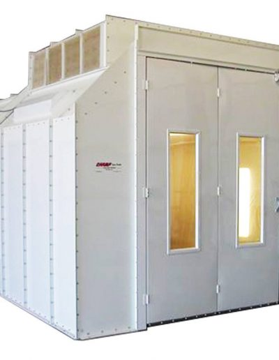 RTT Engineered Solutions EZ Modified Downdraft Paint Booth