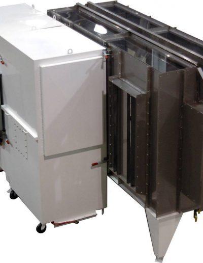 RTT Engineered Solutions EX Pass Through Powder Coating Booth