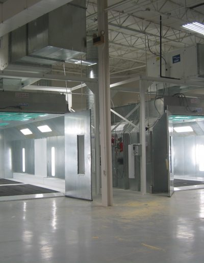 RTT Engineered Solutions EZ Pit Downdraft Paint Booths