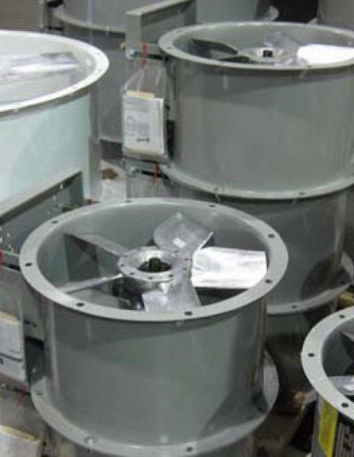 RTT Engineered Solutions fans and components