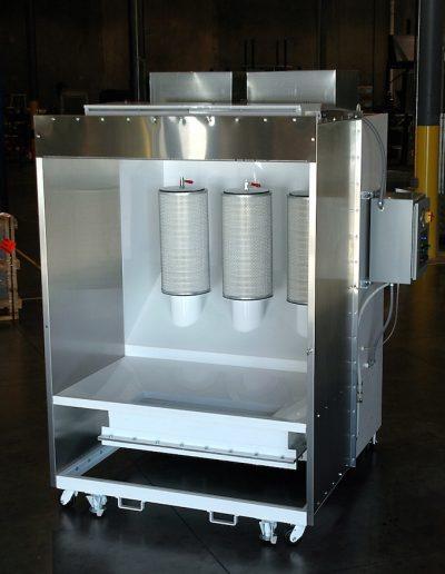 RTT Engineered Solutions Lab Powder Coating Booth