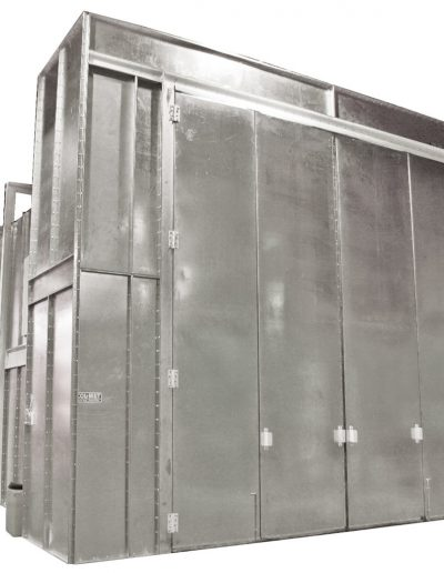RTT Engineered Solutions Crossdraft Paint Booth