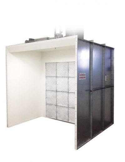 RTT Engineered Solutions Open Front Paint Booth