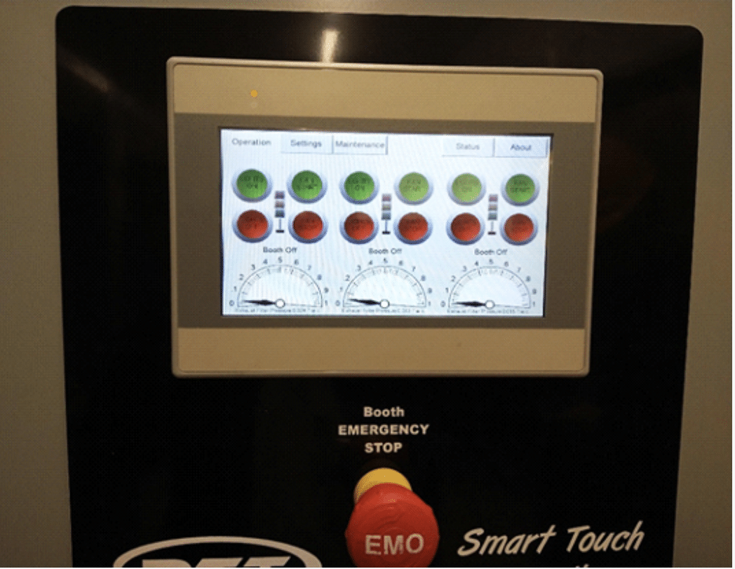 RTT SmartTouch Control Panel Color Touch Screen