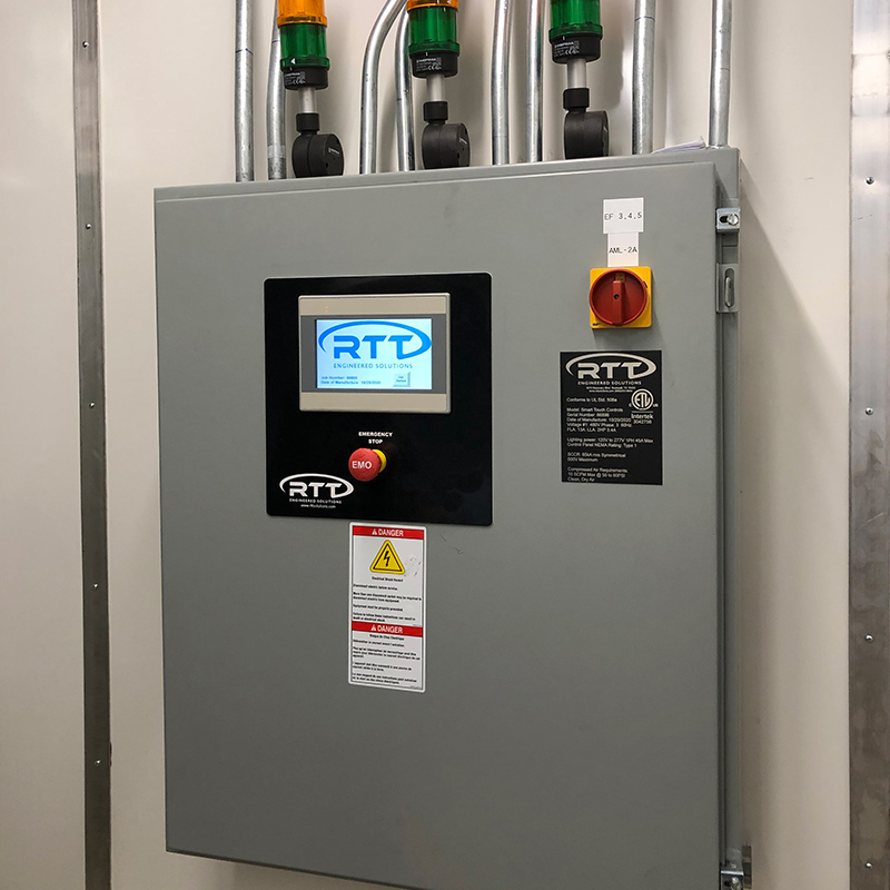 Touch Screen & PLC Based Controls