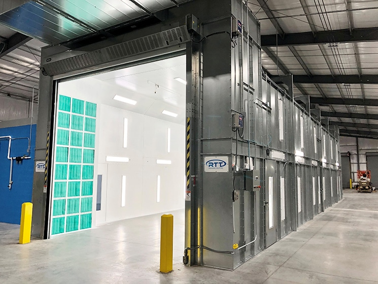 What is a paint booth? RTT Engineered Solutions Answer the question
